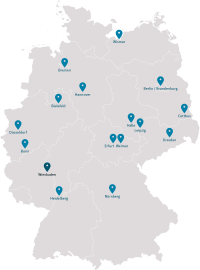 Standortkarte DSK